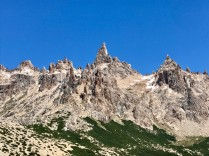 Jagged Peaks surrounding Laguna Towers and Refugio Frey