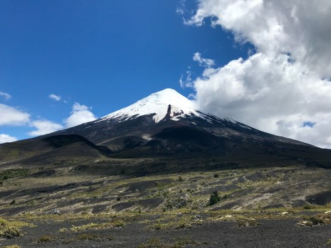 Volcan Osorno from Desolation Pass Trail
